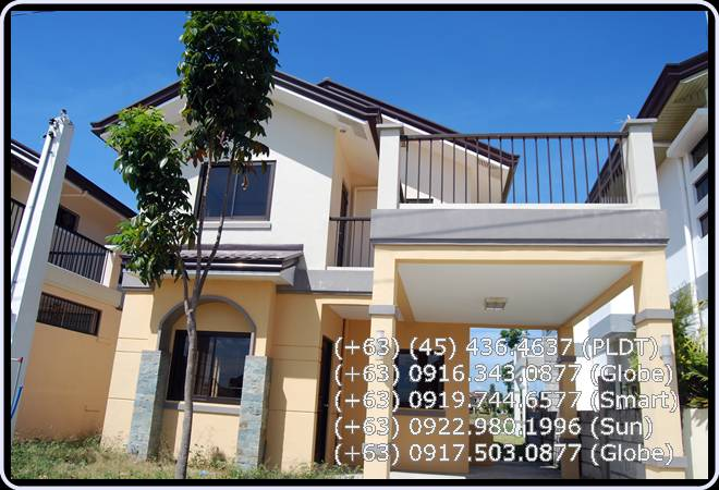 house and lot in Mabalacat, Clark Manor