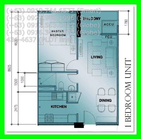1bedroom Floor Plan