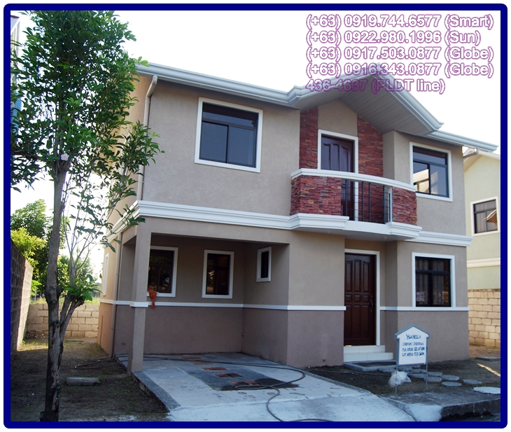 new modern house and lot in angeles city, for sale